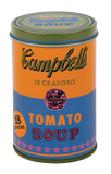 Andy Warhol Soup Can Crayons Orange