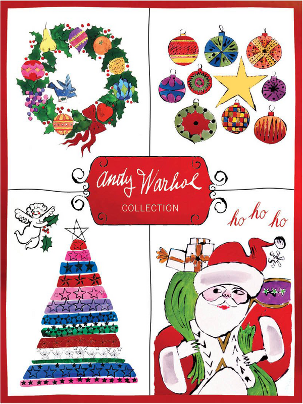 Andy Warhol Deluxe Holiday Notecard Collection
