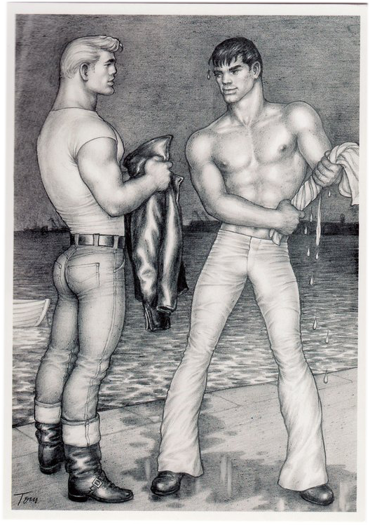 Wet Situation - Tom of Finland Postcard