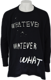 Whatever Whatever What Sweater by Bernhard Willhelm