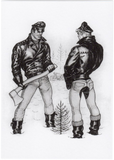 Wood Chopper - Tom of Finland Postcard