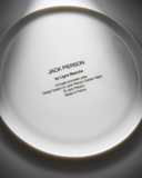 "JACK PIERSON ""GOLDEN YEARS"" PORCELAIN PLATE"