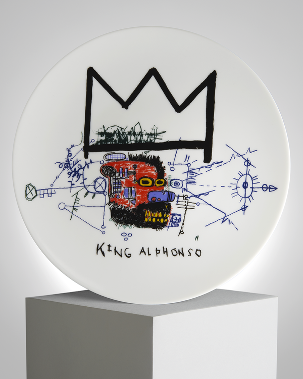 "JEAN-MICHEL BASQUIAT - ""KING ALPHONSO"""