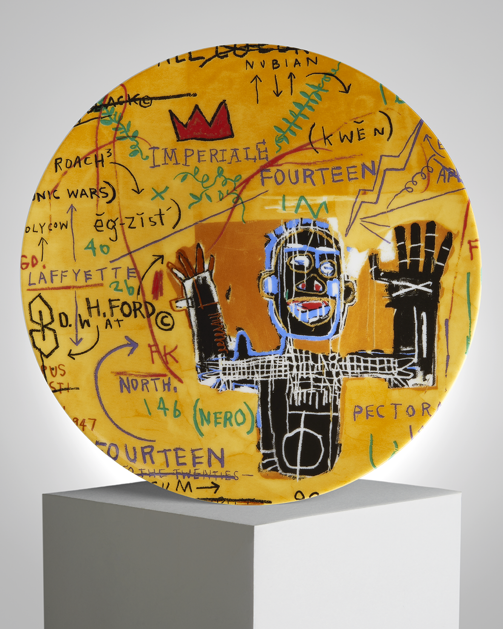 "JEAN-MICHEL BASQUIAT - ""ALL COLORED CAST"""