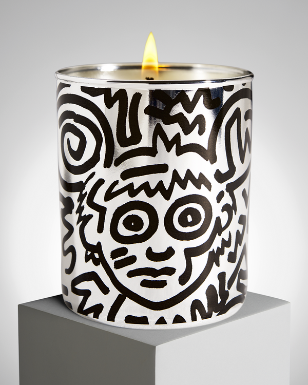 "Keith Haring ""Chrome Andy"" PERFUMED CANDLE"