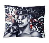 Tom of Finland Back Alley Sateen Pillow Case by Finlayson