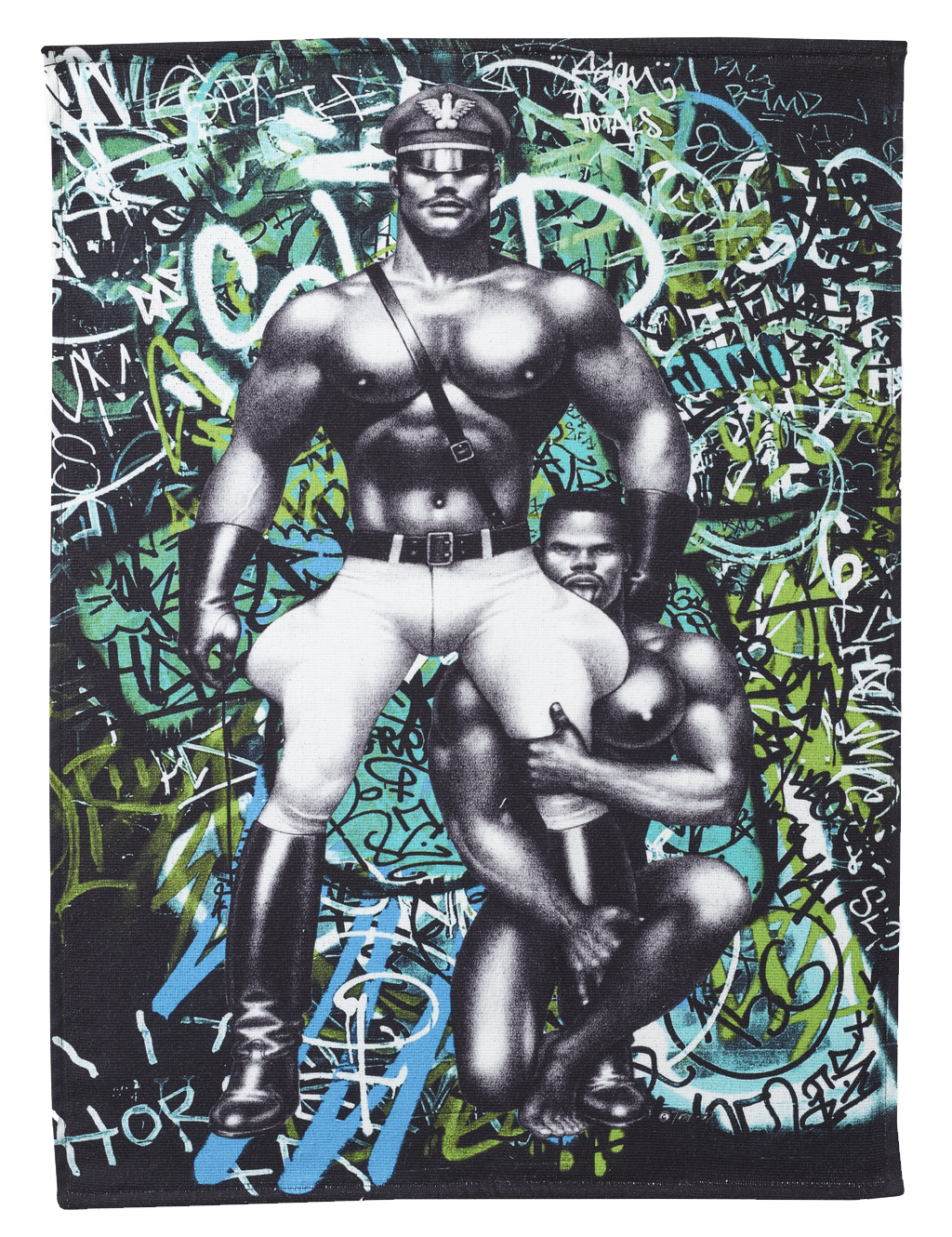 Tom of Finland Back Street Hand Towel by Finlayson