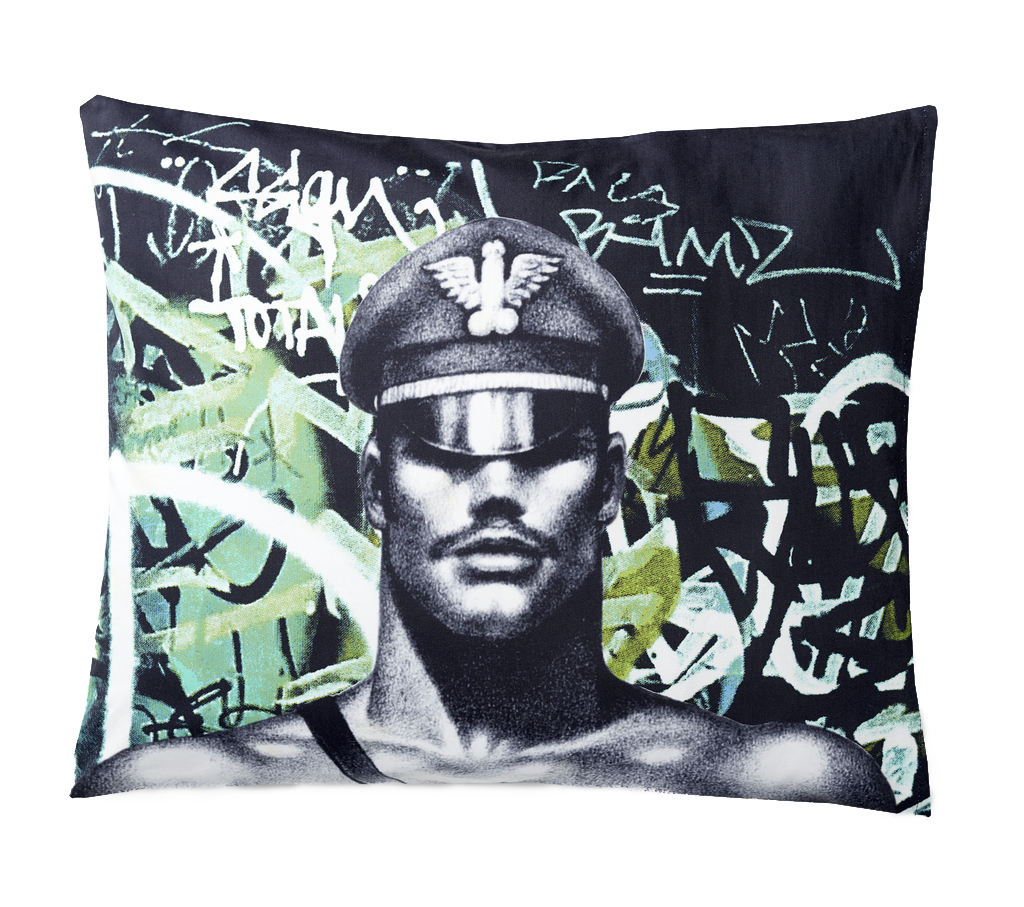 Tom of Finland Back Street Sateen Pillow Case