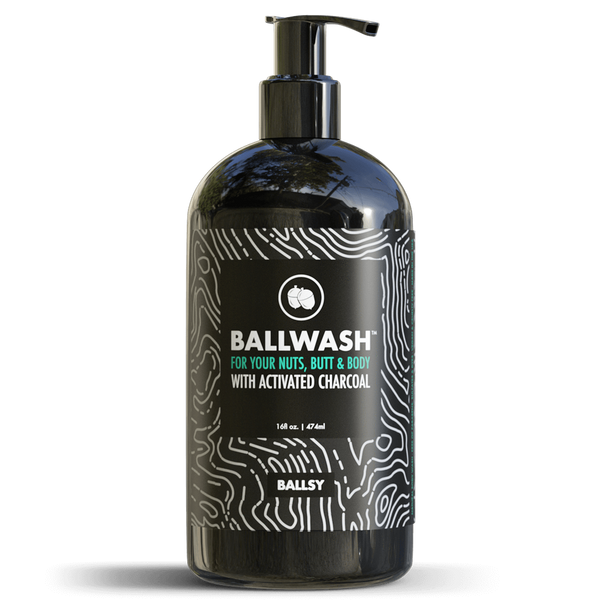 Ballwash XL by Ballsy  BALLWASH XL PUMP BOTTLE
