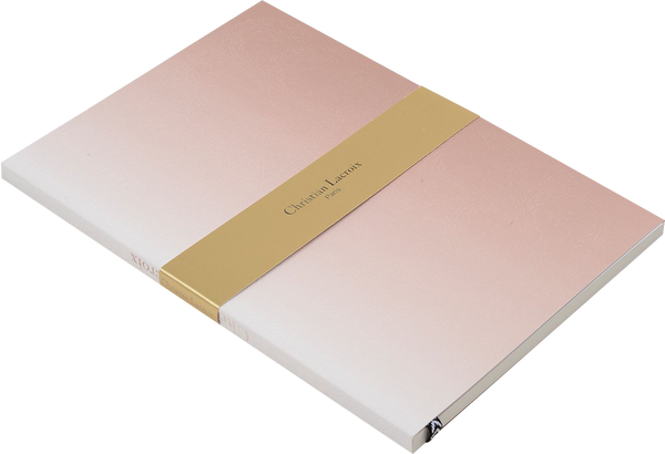 Christian Lacroix Blush Ombre Paseo Notebook
