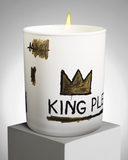 "Jean-Michel basquiat ""KING PLEASURE"" PERFUMED CANDLE"