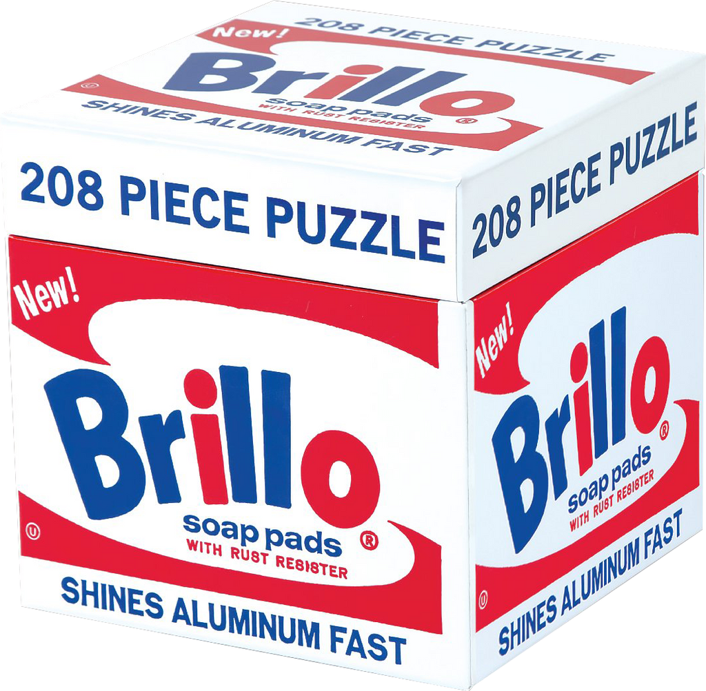 Andy Warhol Brillo 200pc Puzzled