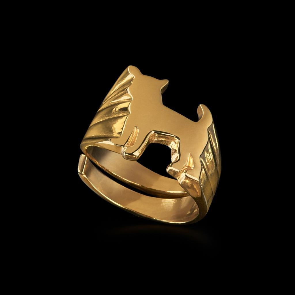 Chihuahua Signet Ring by Jonathan Johnson