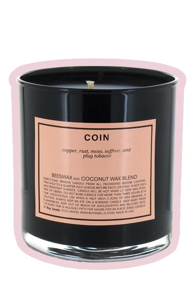 BOY SMELLS CANDLE: COIN