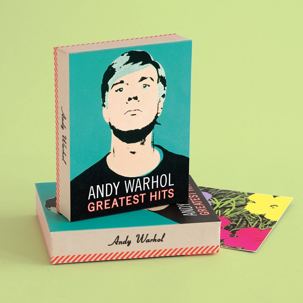 Andy Warhol Greatest Hits Keepsake Box Note Cards