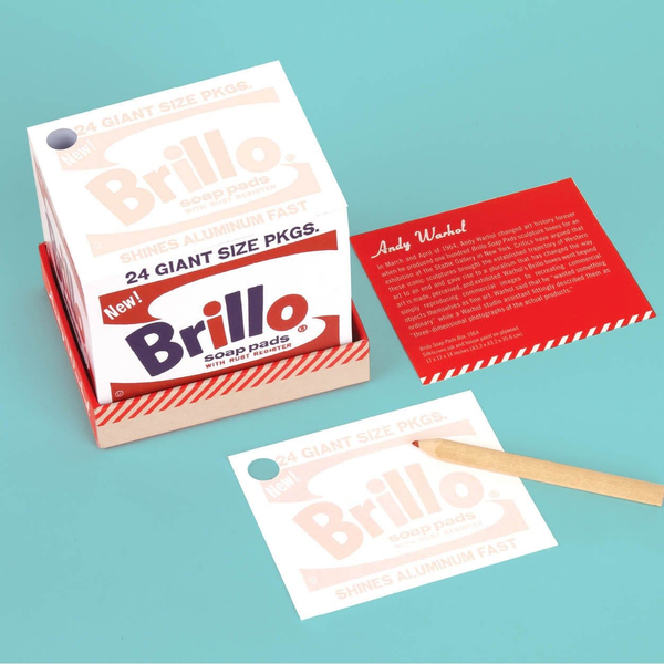 Andy Warhol Brillo Memo Block