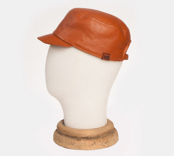 Tom of Finland x Costo GONA Brown Leather Cap