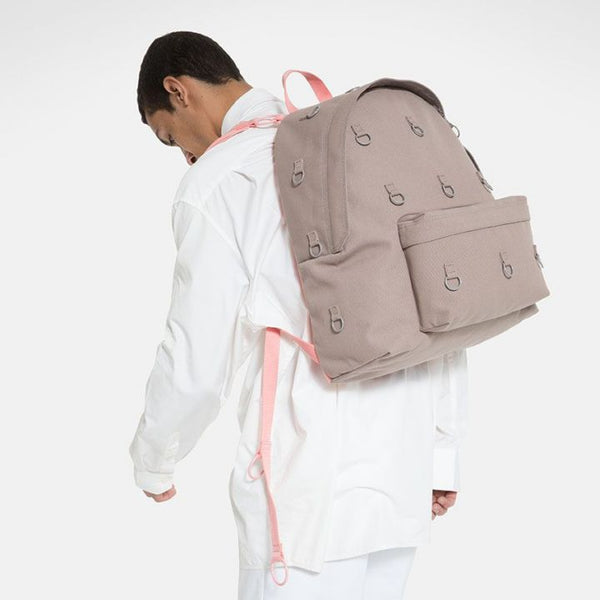 Raf Simons x Eastpak Padded Loop Backpack Grey/Pink A/W 19-20