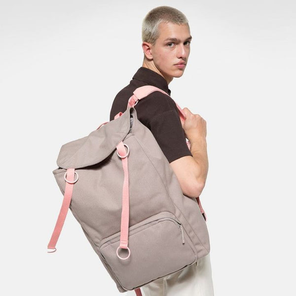 Raf Simons x Eastpak Topload Loop Backpack Grey/Pink A/W 19-20