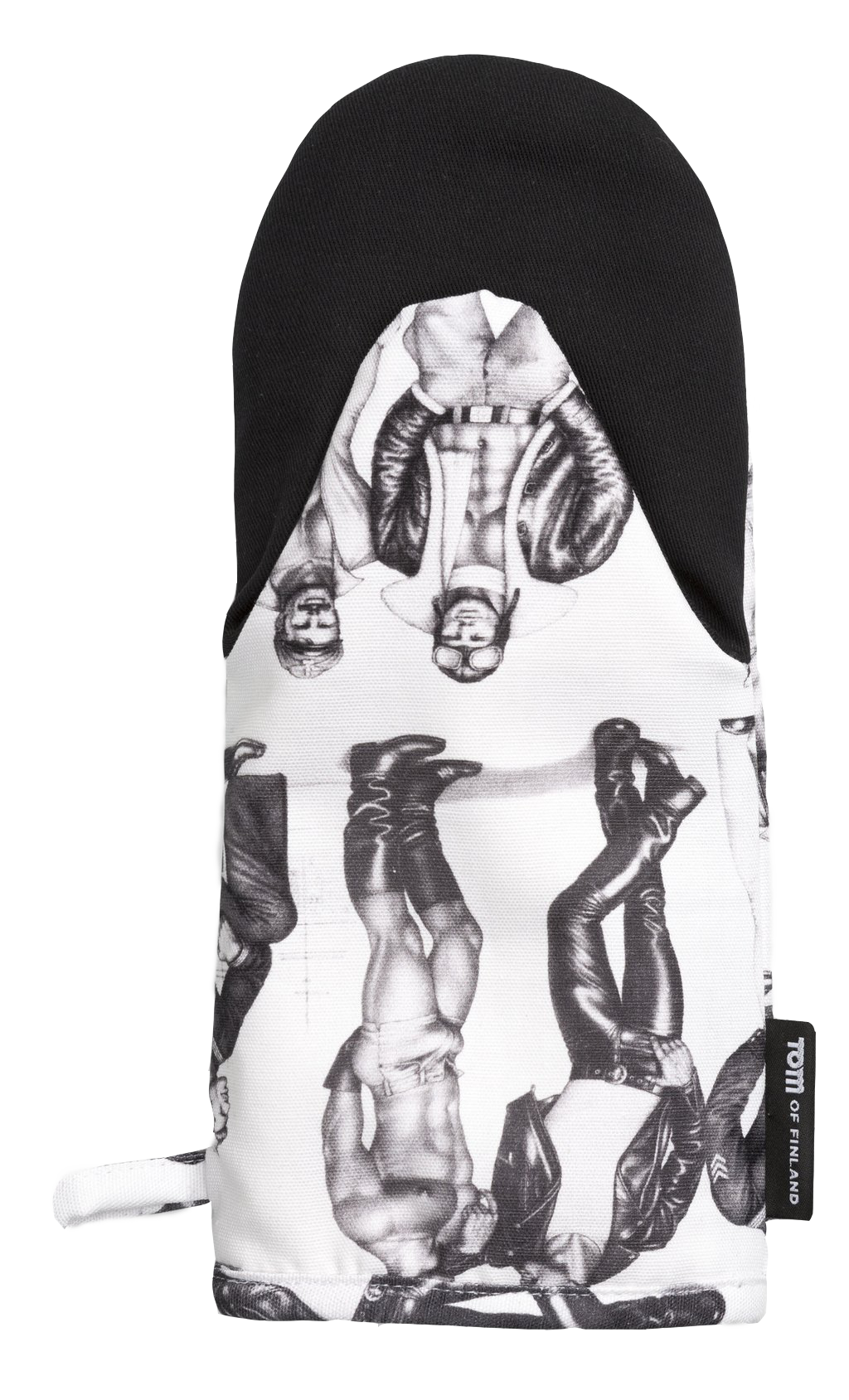 Tom of Finland Fellows Oven Mitt by Finlayson