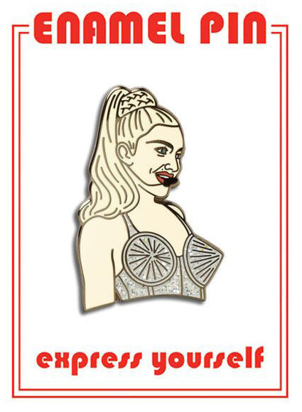 Madonna Pin By The Found