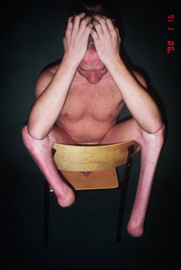 BRUCE LABRUCE, Amputee on Chair, 1999