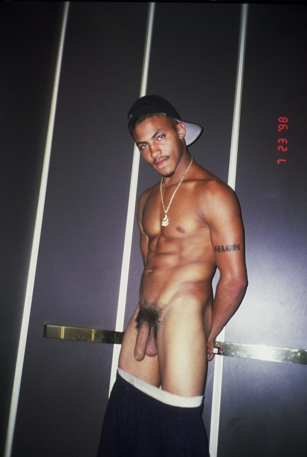 BRUCE LABRUCE, Tiger Tyson in Harmony's Elevator, 1999