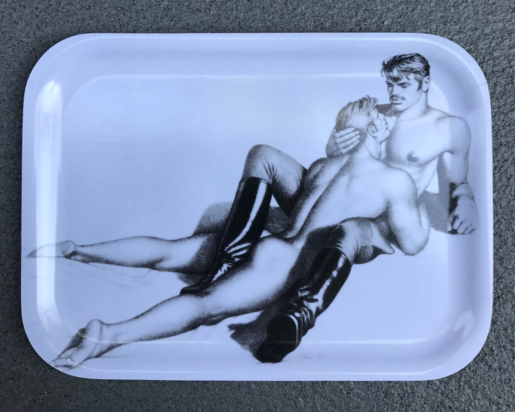 Tom of Finland Lovers Wooden Tray