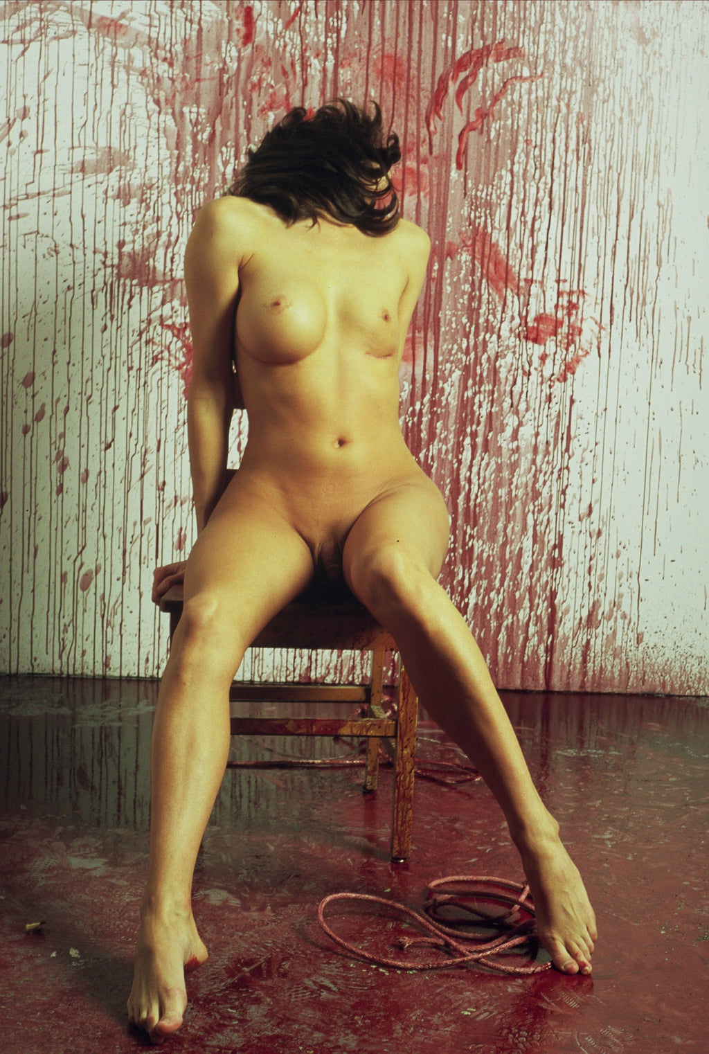 BRUCE LABRUCE, Transwoman with Blood, 2006