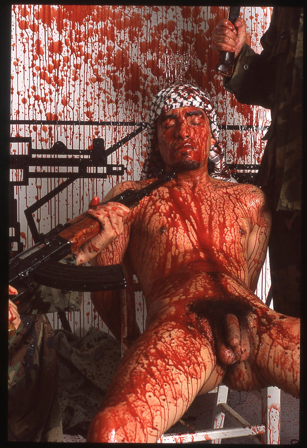 BRUCE LABRUCE, Bloody Terrorist (Heterosexuality is the Opiate of the Masses), 2005