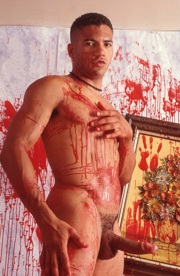 BRUCE LABRUCE, Bloody Porn Star #2, 2000
