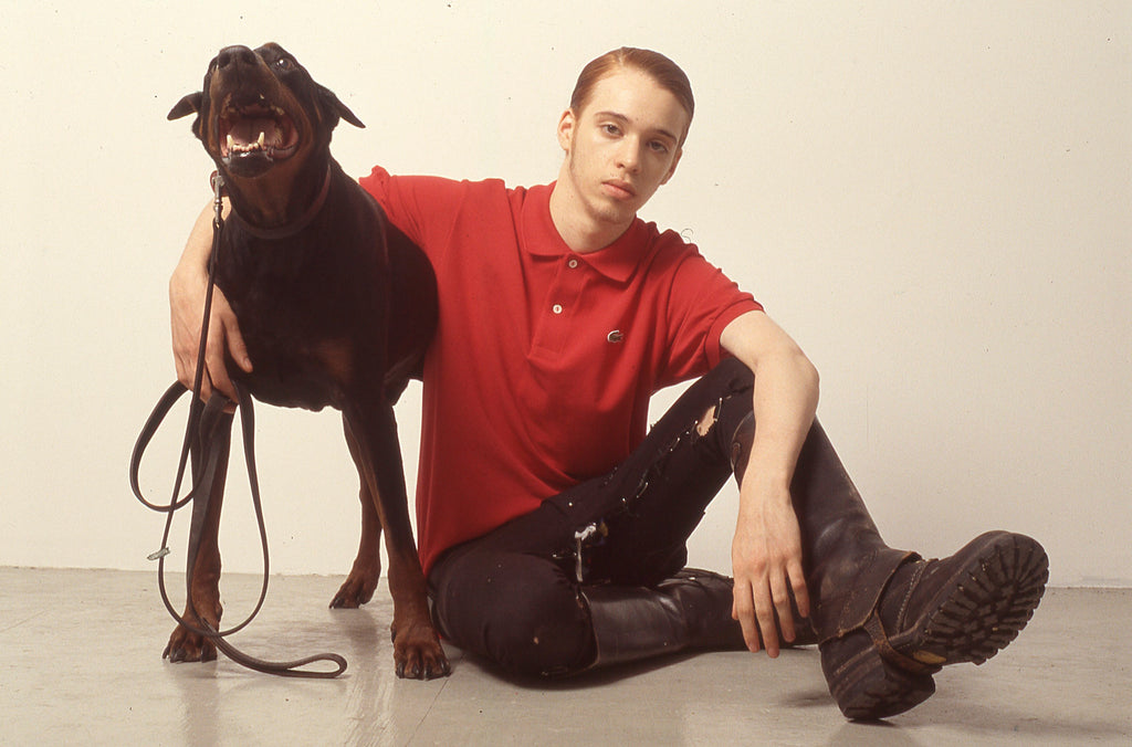 BRUCE LABRUCE, Axel with Doberman, 2005