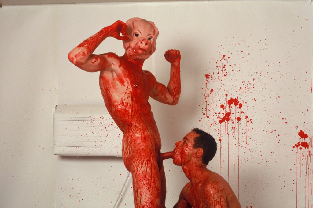 BRUCE LABRUCE, Pig's Mask Blow-Job, 2001