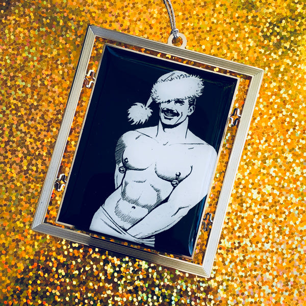 Tom of Finland Holiday 2018 Ornament