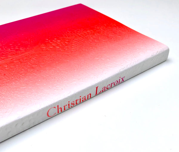 Christian Lacroix Neon Pink Ombre Paseo Notebook