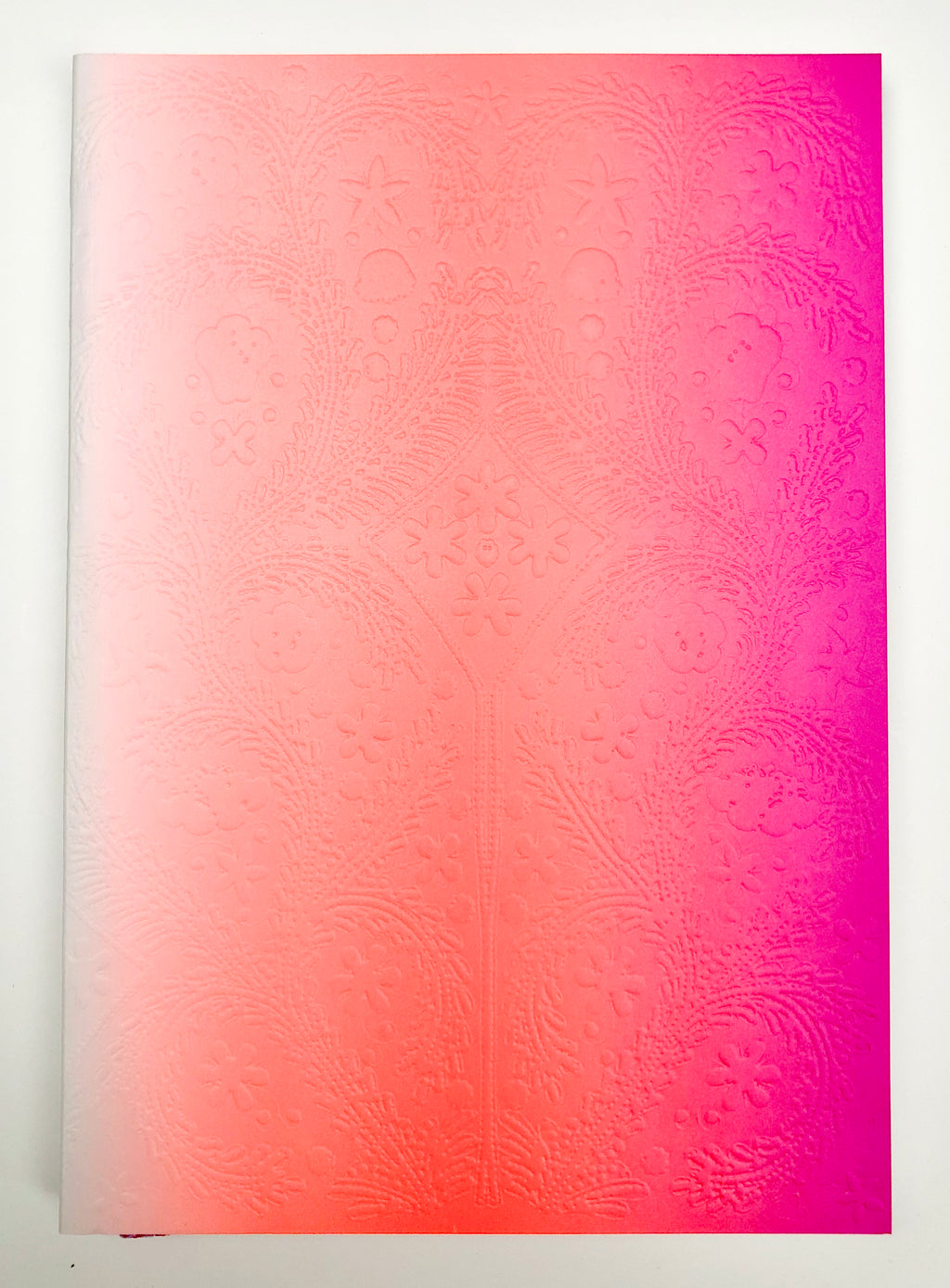 Christian Lacroix Neon Pink Ombre Paseo Notebook (Medium)