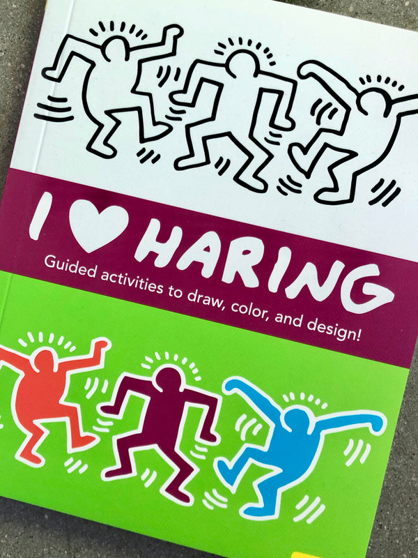 I Heart Haring Activity / Coloring Book