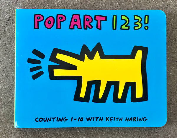 KEITH HARING POP ART 123! BOARD BOOK