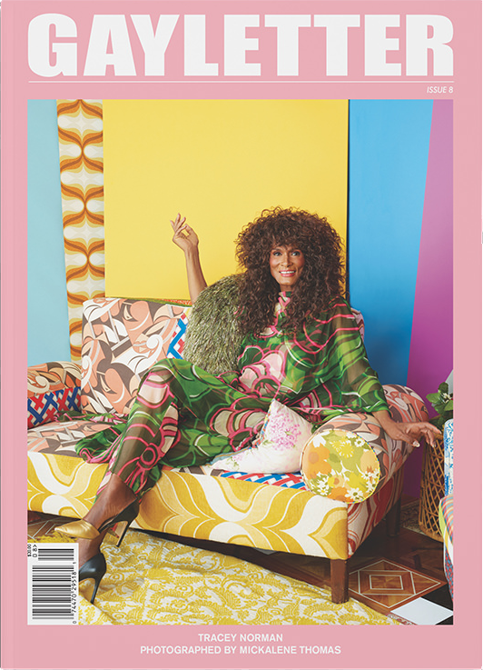 Gayletter Issue 8 - Cover by Mickalene Thomas