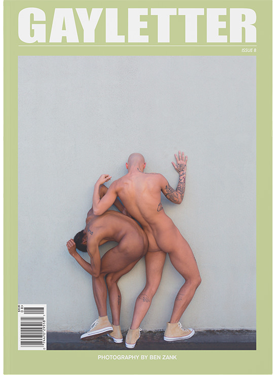 Gayletter Issue 8 - Cover by Ben Zank