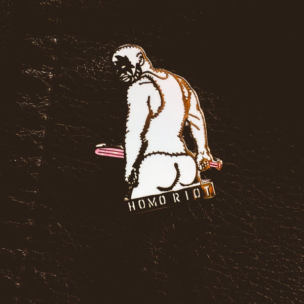 Big Stick Pin By Starrfucker Magazine x Homo Riot