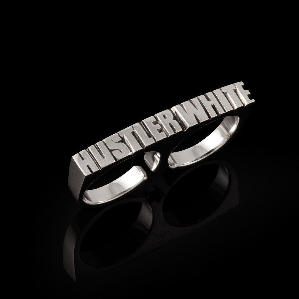"Bruce LaBruce ""Hustler White"" Ring by Jonathan Johnson Image 1"