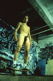 BRUCE LABRUCE, Naked Skater with Hard-On, 2002