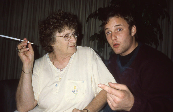 BRUCE LABRUCE, Brad Renfro w/ His Grandmother (Toronto), 2000
