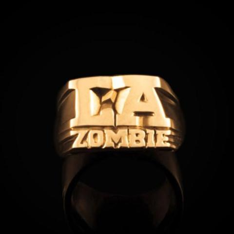 Bruce LaBruce L.A. Zombie Brass Ring by Jonathan Johnson