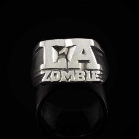 Bruce LaBruce L.A. Zombie Silver Ring by Jonathan Johnson