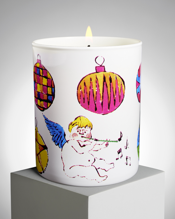 ANDY WARHOL CHRISTMAS ANGEL PERFUMED CANDLE