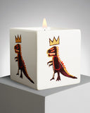 "JEAN-MICHEL BASQUIAT ""gold dragon"" SQUARE PERFUMED CANDLE"