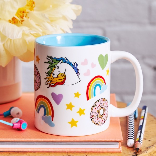Coffee Mug: Unicorns & Rainbows