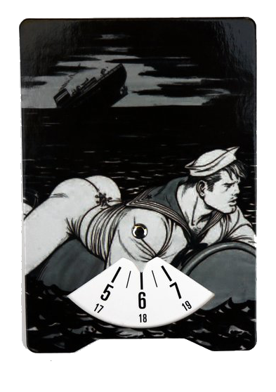Tom of Finland Sinking Ship Parking Disc